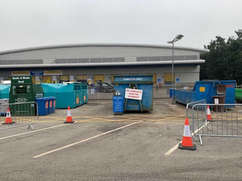 hazardous waste disposal site