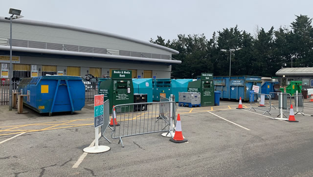 waste management site